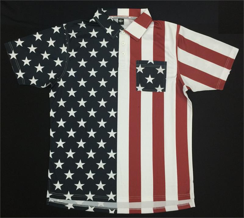 6f7a67055e7 MLB Replica 4 STARS   STRIPES USA 2 2018- - Short Sleeve ...